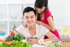 Almoço para o noivo Imagem de Stock