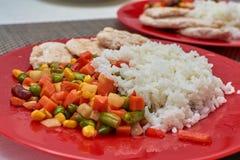 Almoço saboroso e saudável Imagens de Stock