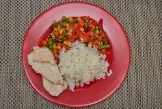 Almoço saboroso e saudável Fotografia de Stock Royalty Free