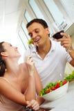 Almoço saudável Imagem de Stock Royalty Free