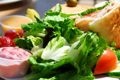 Almoço saudável Fotografia de Stock