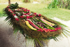 Almoço tropical Imagens de Stock