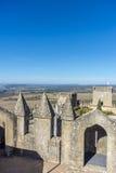 Almodovar del里约城堡,科多巴,安大路西亚,西班牙 库存照片