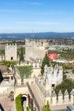 Almodovar del Rio Castle, Cordoba, Andalusia, Spain. Stock Image