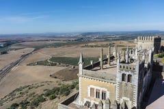 Almodovar del Rio Castle, Cordoba, Andalusia, Spain. Royalty Free Stock Photo