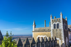 Almodovar del Rio Castle, Cordoba, Andalusia, Spain. Almodovar del Rio Castle, arab fortress built in 740 on an old building in early times near Cordoba Stock Photos