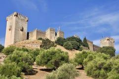 Almodovar del Rio castle, Spain Stock Image