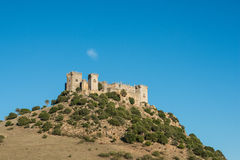 Almodovar del Rio castle, Spain. Image of medieval castle at Almodovar del Rio, Cordoba, Andalusia, Spain Stock Images