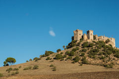 Almodovar del Rio castle, Spain. Image of medieval castle at Almodovar del Rio, Cordoba, Andalusia, Spain Royalty Free Stock Photo