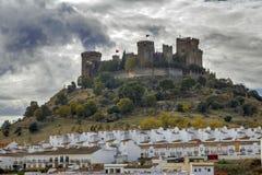 Almodovar del Rio, cordoba Hiszpania Zdjęcia Stock