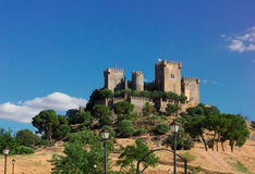 Almodovar del Rio, Cordoba, Spain Royalty Free Stock Photography