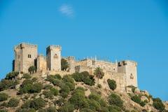 Almodovar Del Rio kasztel, Hiszpania Zdjęcia Royalty Free