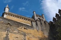 Almodovar Del Rio medieval castle in Spain Stock Photo