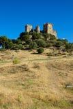 Almodovar del Rio op de heuveltop, Cordoba, Spanje Royalty-vrije Stock Foto