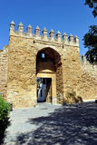 Almodovar Gate, medieval walls of Cordoba, Spain Royalty Free Stock Photos