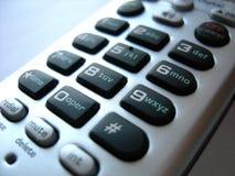 Almofada chave 01 do telefone Foto de Stock Royalty Free