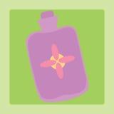 Almofada de borracha médica Fotografia de Stock