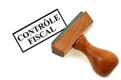 Almofada de cobertura do controle de imposto ilustração do vetor