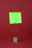 Almofada de nota cor-de-rosa Fotos de Stock Royalty Free