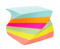 Almofada de nota do post-it Imagem de Stock Royalty Free