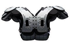 Almofada de ombro do futebol americano Imagem de Stock