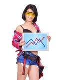 Almofada de toque com carta Imagens de Stock Royalty Free