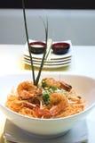 Almofada do camarão tailandesa Imagem de Stock