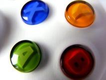 Almofada do controlador de console Imagem de Stock Royalty Free