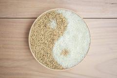 Almofada e arroz no plante Foto de Stock Royalty Free