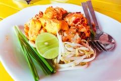 A almofada tailandesa é um alimento local de Tailândia Imagem de Stock Royalty Free