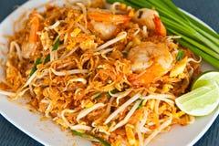 Almofada tailandesa, alimento tailandês Foto de Stock Royalty Free