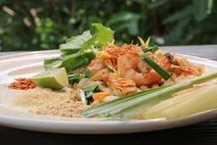 Almofada tailandesa Alimento tailandês - fritada #6 do Stir foto de stock royalty free