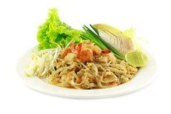 Almofada tailandesa do alimento tailandesa Fotos de Stock