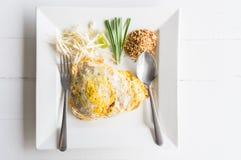 Almofada tailandesa do alimento tailandesa Imagens de Stock