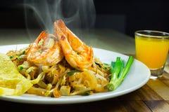 Almofada tailandesa do macarronete tailandesa Foto de Stock
