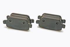 Almofadas de freio traseiro ajustadas Imagem de Stock Royalty Free