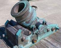 Almofariz de bronze Foto de Stock Royalty Free