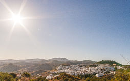Almogia village, Andalusia. Almogía is a town and municipality in the province of Málaga, part of the autonomous community of Andalusia in southern Spain Stock Photo