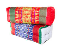 Almohada colorida aislada Fotos de archivo libres de regalías