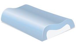 Almohada de la espuma de la memoria Imagen de archivo