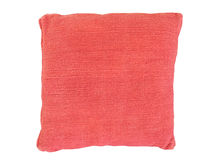 Almohada del sofá con la cubierta del terciopelo Foto de archivo