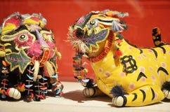 Almohada del tigre Fotografía de archivo libre de regalías