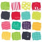 Almohadas stock de ilustración