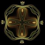 Almohadilla de la cruz maltesa Imagen de archivo libre de regalías