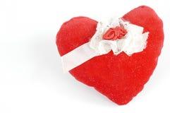 Almohadilla del amor Fotos de archivo
