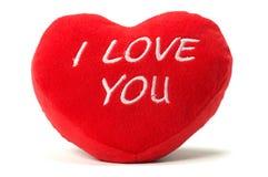Almohadilla del corazón fotografía de archivo