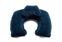 Almohadilla inflable del cuello Foto de archivo libre de regalías