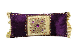 Almohadilla púrpura Imagenes de archivo