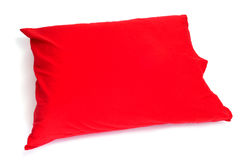 Almohadilla roja Foto de archivo