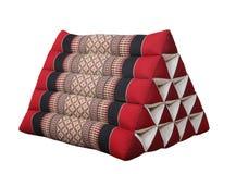 Almohadilla tailandesa del estilo del triángulo Imagen de archivo libre de regalías